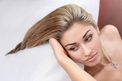 Peinado hermoso Imagen de archivo