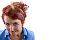 Peinado moderno Imagen de archivo