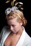 Peinado nupcial Imagenes de archivo