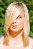 Peinado perfecto Fotografía de archivo libre de regalías