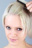 Peinado Selfmade Imágenes de archivo libres de regalías