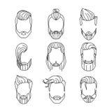 Peinados de Men's libre illustration