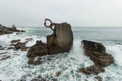 Peinar la brisa de mar foto de archivo