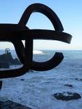 Peine de los Vientos, Donostia ( Basque Country ) Royalty Free Stock Image