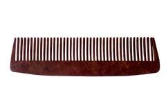 Peine del pelo, aislado en el fondo blanco foto de archivo