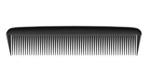 Peine negro Imagen de archivo libre de regalías