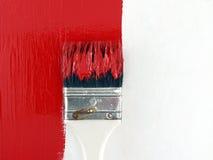 A peint le mur en bois image stock