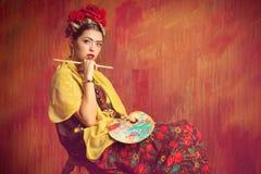 Peintre photo stock