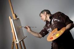 Peintre Photographie stock libre de droits