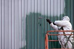 Peintre commercial Images stock