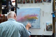Peintre d'artiste photos libres de droits