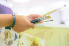 Peintres et peintres photos stock