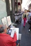 Peintres italiens Image libre de droits