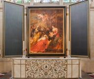Peinture à Bruges Belgique Photo libre de droits