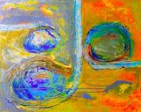 Peinture à l'huile Photo libre de droits