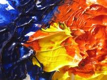 Peinture à l'huile Photo stock