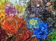 Peinture à l'huile Images libres de droits