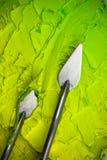 Peinture à l'huile Photos stock