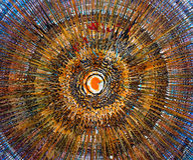 Peinture à l'huile - abstraction image stock