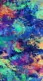 Peinture à l'huile abstraite Photos libres de droits