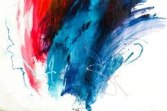 peinture à l'huile abstraite de fond Huile sur la texture de toile Tiré par la main images libres de droits