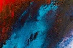 peinture à l'huile abstraite de fond Huile sur la texture de toile Tiré par la main photo stock