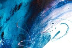 peinture à l'huile abstraite de fond Huile sur la texture de toile Tiré par la main photographie stock