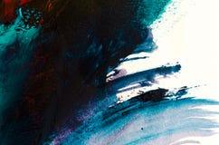 peinture à l'huile abstraite de fond Huile sur la texture de toile Tiré par la main images stock