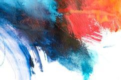 peinture à l'huile abstraite de fond Huile sur la texture de toile Tiré par la main photographie stock libre de droits