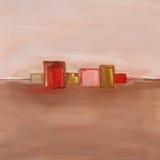 Peinture à l'huile contemporaine Images libres de droits