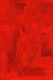 Peinture à l'huile cramoisie abstraite Photographie stock