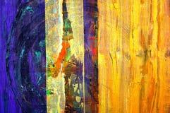 Peinture à l'huile initiale Photographie stock libre de droits