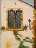 Peinture à l'huile initiale Photo libre de droits
