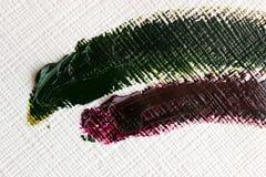 Peinture à l'huile sur la toile Photos libres de droits