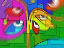 Peinture Illustration Stock