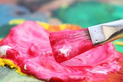 Peinture Photographie stock libre de droits