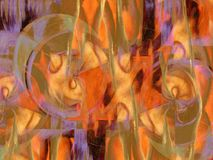 Peinture abstraite Image stock