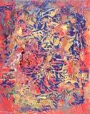 Peinture abstraite Photos stock
