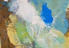 Peinture abstraite avec la structure trouble et souillée Fond de texture de carton avec le copyspace pour la conception CCB color illustration libre de droits