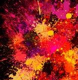Peinture abstraite d'éclaboussure photographie stock