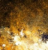 Peinture abstraite d'éclaboussure Images libres de droits