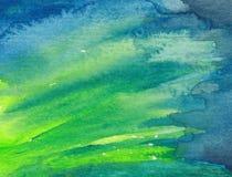 Peinture abstraite d'aquarelle Image stock