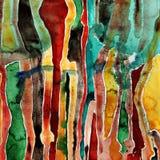 Peinture abstraite d'aquarelle Image libre de droits