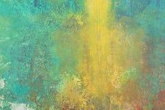 Peinture abstraite de balai Images libres de droits