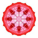 Peinture abstraite de cercle Illustration de trame Images libres de droits