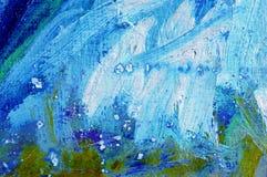Peinture abstraite de couleurs à l'huile Image libre de droits