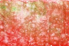 Peinture abstraite de main d'art d'aquarelle sur le fond blanc Fond d'aquarelle image stock