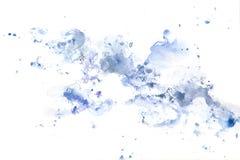Peinture abstraite de main d'art d'aquarelle Fond Image stock