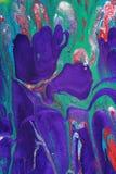 peinture abstraite de toile Image libre de droits