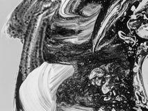 Peinture abstraite faite main Surréalisme et mysticisme Peinture abstraite de fond Photographie stock libre de droits
